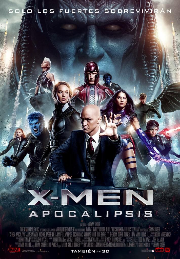 XMen Apocalipsis_Poster