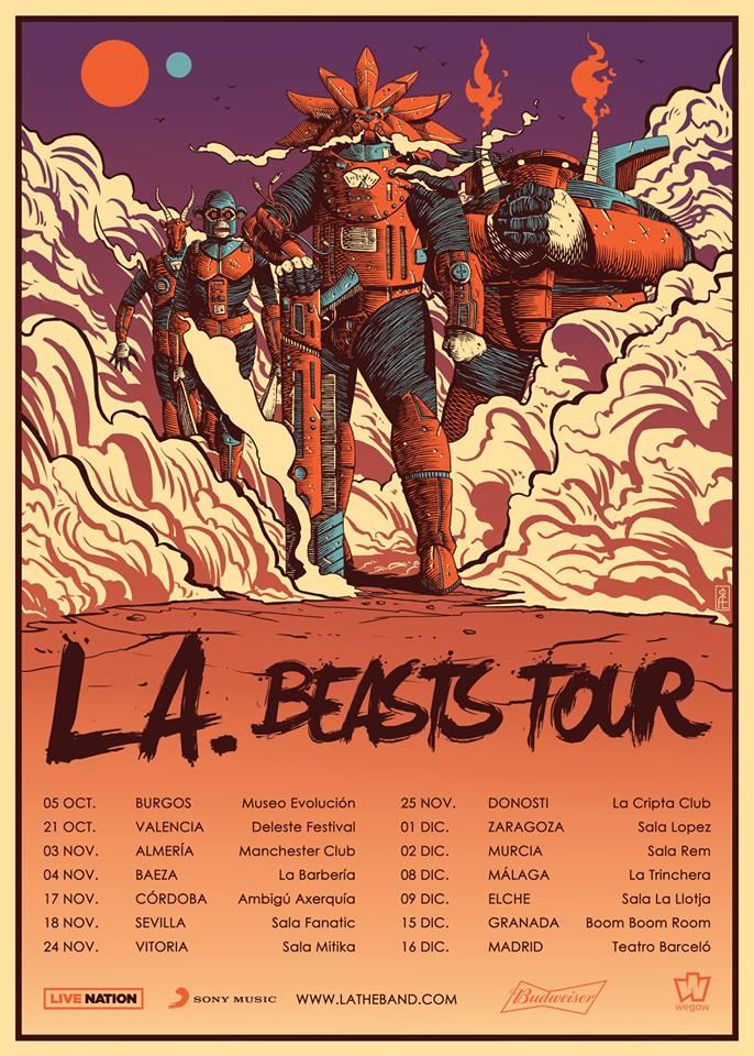 la beasts tour