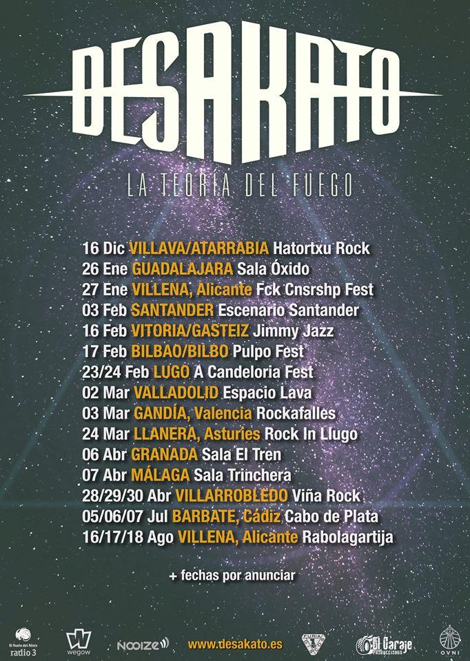 desakato tour 2018