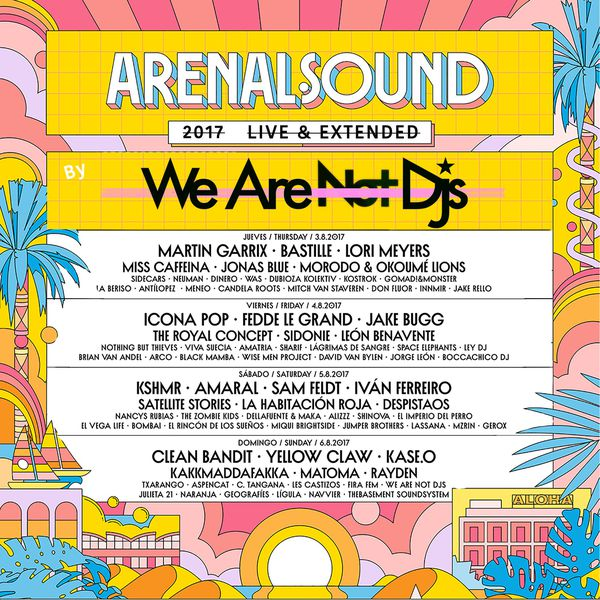 we are not djs arenal sound