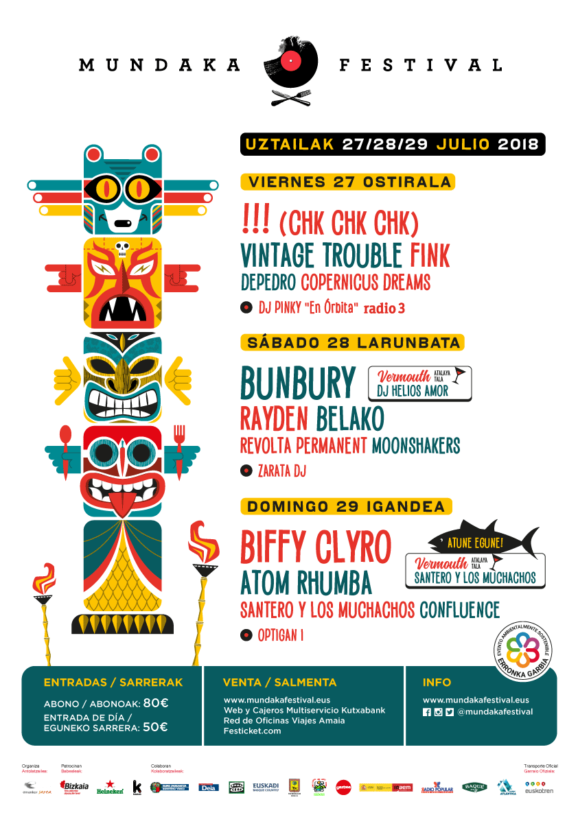 mundaka festival cartel rocktotal