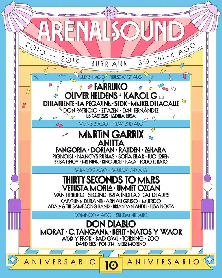 arenal sound cuarto avance