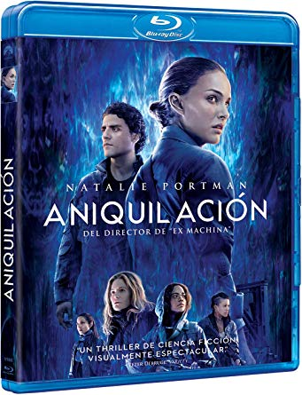 annihilation blu ray