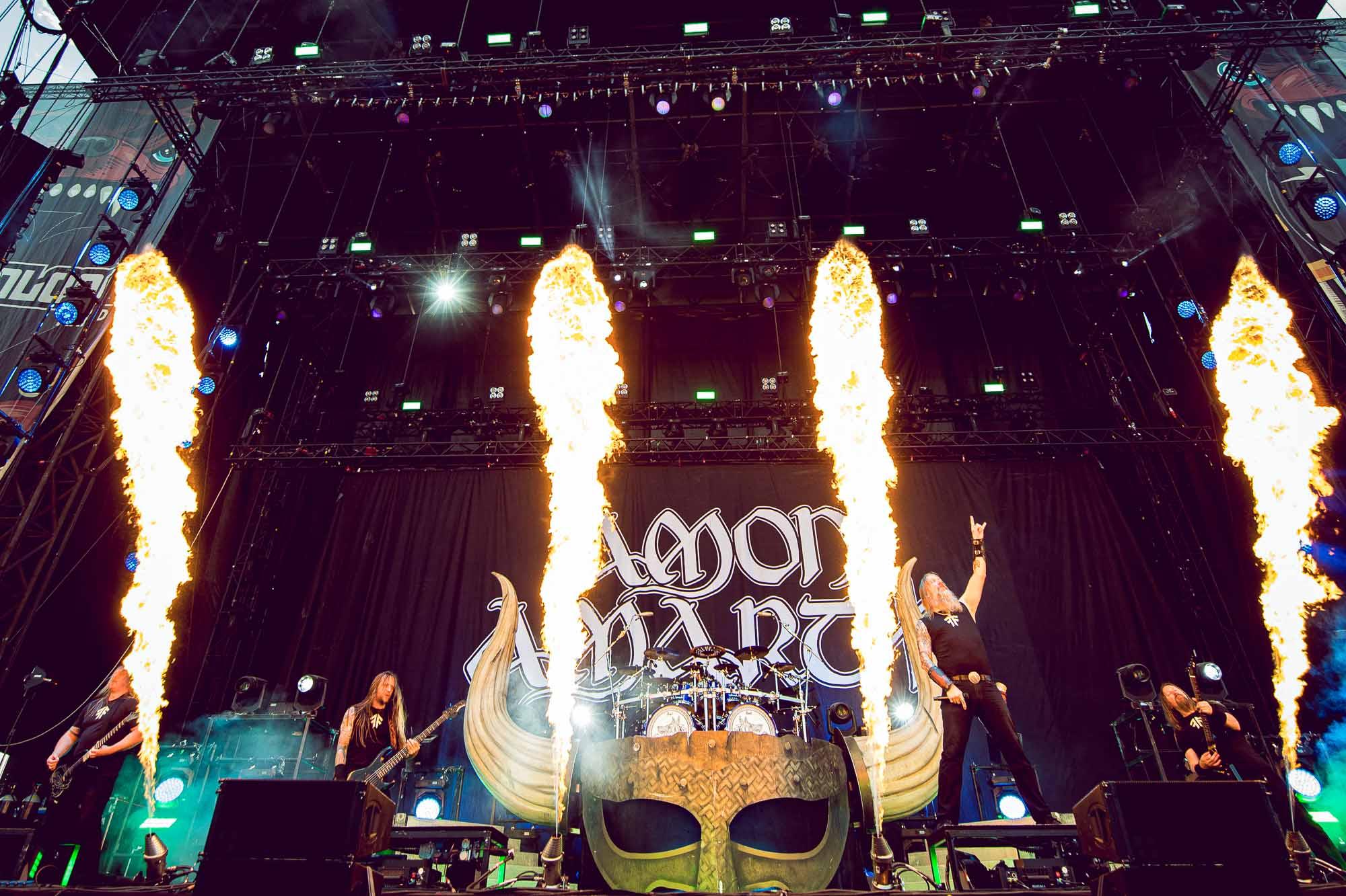 Amon Amarth _ Download festival _ sabado _ jgarciani2