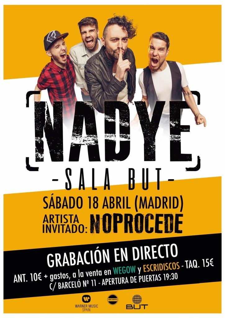 NADYE concierto Madrid but