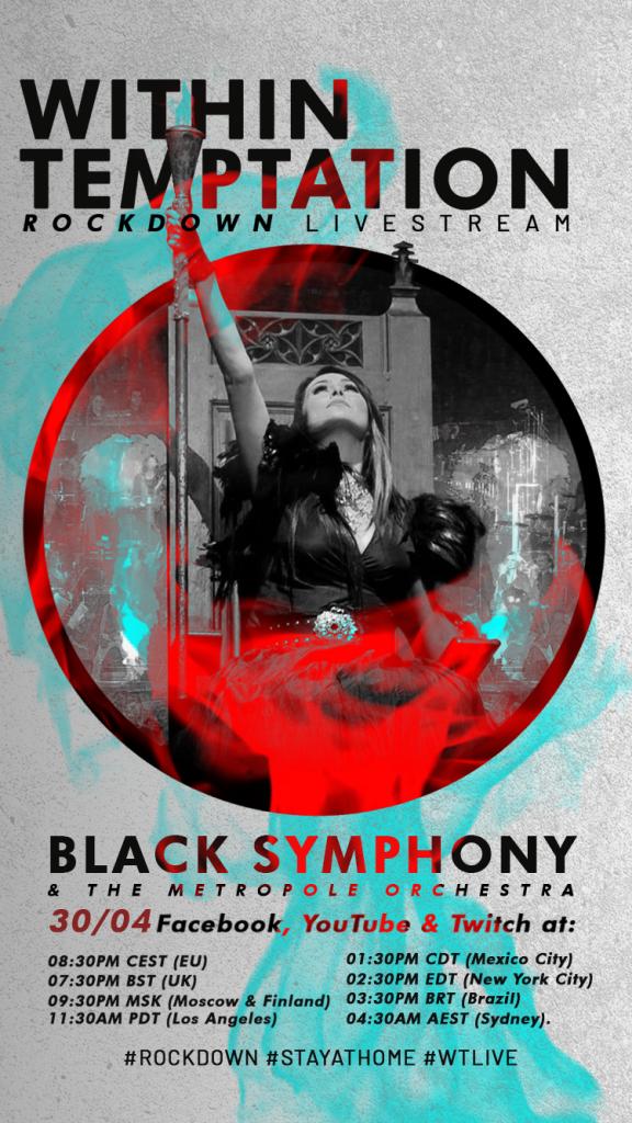 BLACK SYMPHONY ROCKDOWN STORIES