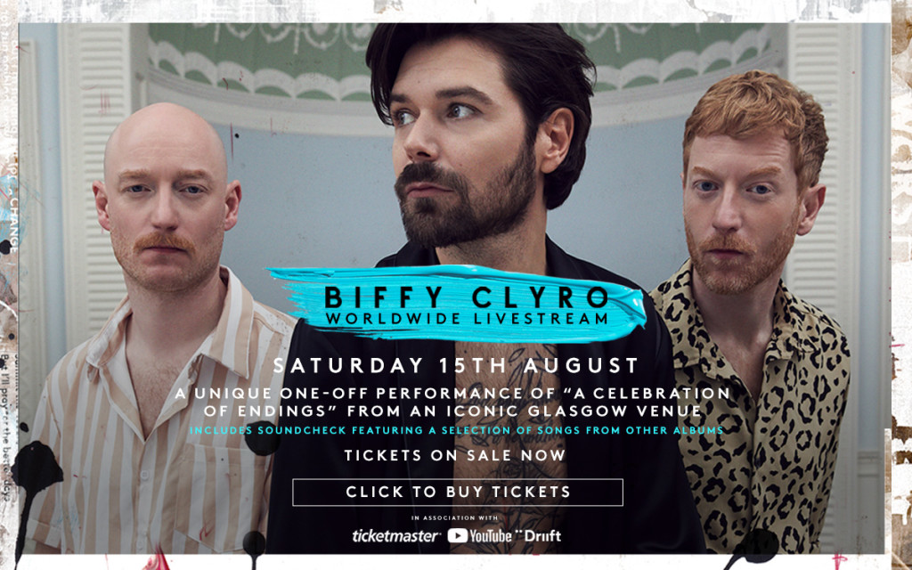 biffy clyro streaming concert