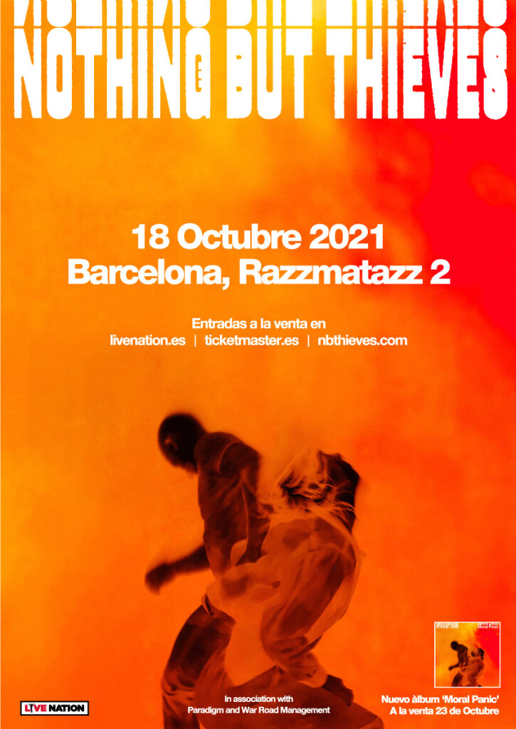 nothing but thieves barcelona