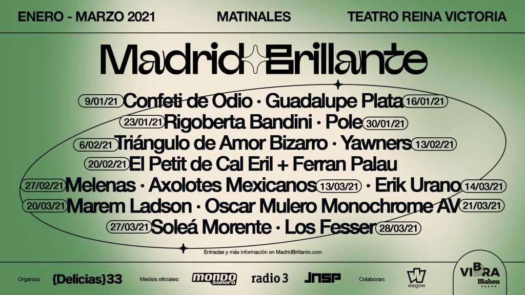 MADRID BRILLANTE VIBRA MAHOU REINA VICTORIA